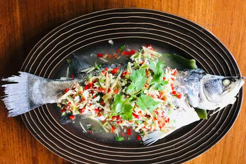 Thai prepared fish